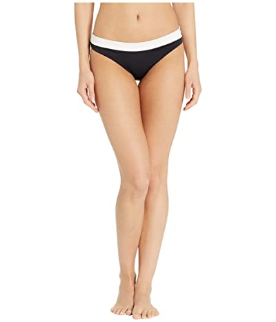 Seafolly Pop Block Hipster Bikini Bottom (Black) Women