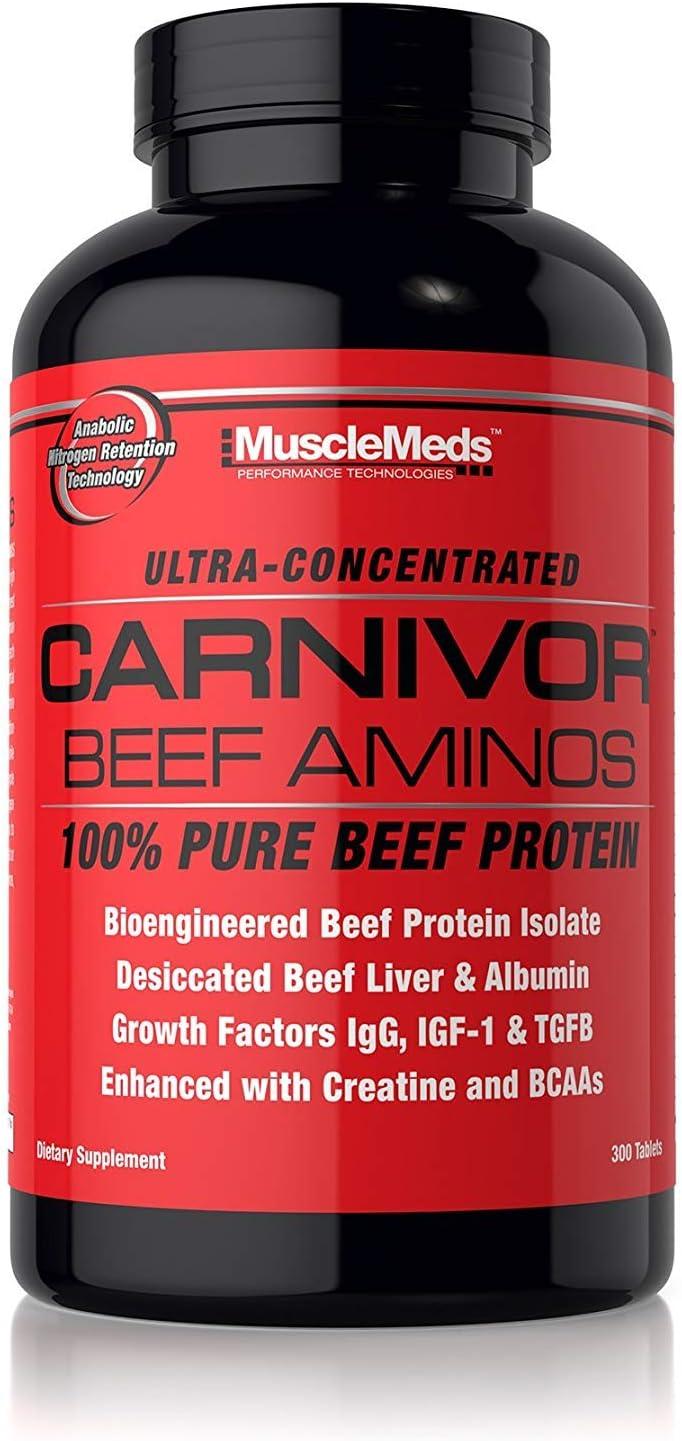 Muscle Meds Carnivor Beef Aminos (300) 300 ml