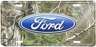 camo ford license plate