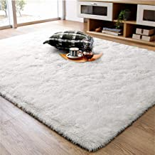 White Cream Area Rugs For Living Room