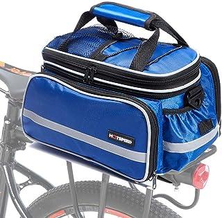 comprar comparacion Selighting Bolsa Alforja Trasera Bicicleta Impermeable Bolso de Viaje Portátil Extensible Bolsa de Hombro para Ciclismo al...