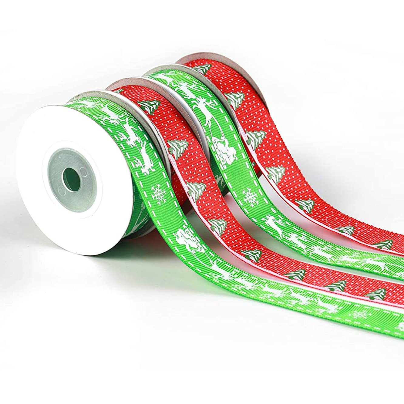 Christmas Fabric Ribbon 3/4