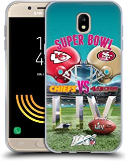 Head Case Designs Oficial NFL Kansas City Chiefs vs San Francisco 49ers 2020 Super Bowl Liv Versus Carcasa de Gel de Silicona Compatible con Samsung Galaxy J5 (2017)