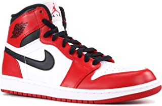 1 Retro 'Chicago' - 332550-163 - Size 8.5 White, Varsity Red-Black