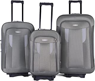 Trolley Travel Bags Set By Concord , 3 Pieces , 97301 , Grey