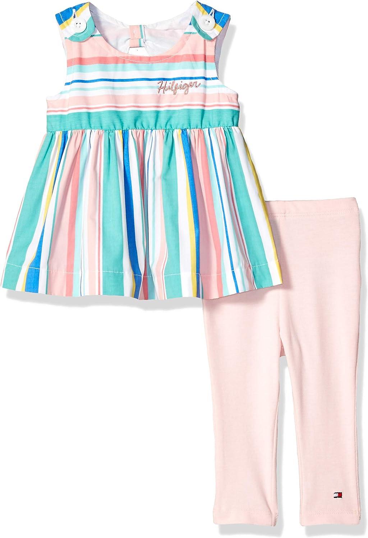 Tommy Hilfiger Girls 2 Pieces Leggings Set