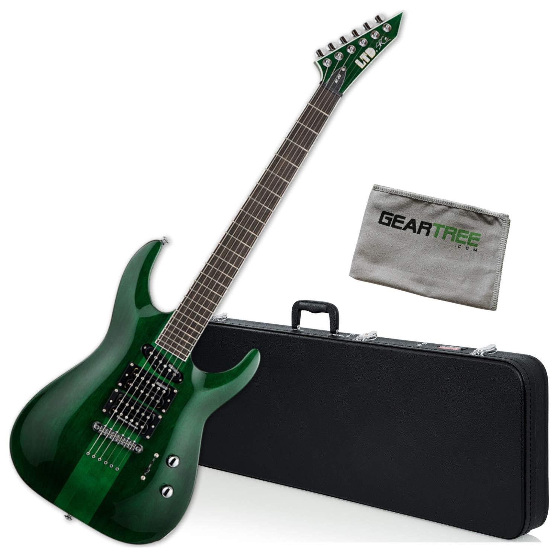 Cheap ESP LTD SC-20TH Anniversary See Thru Green Stephen Carpenter Electric Guitar w/ Black Friday & Cyber Monday 2019