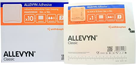 Allevyn Smith Nephew 66020044 Adhesive Foam Dressing 5