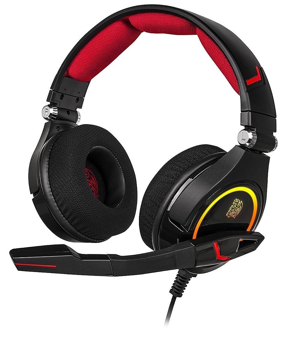 クロニクル誰も寝室CRONOS RGB 3D 7.1 Surround Sound PC Gaming Headset [並行輸入品]