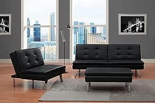 leather futon chair