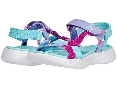 SKECHERS KIDS Sport Sandal On-The-Go 600 Summer Sense 302117L (Little Kid/Big Kid)