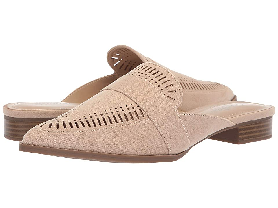 Charles by Charles David Elle Slip-On Mule (Nude Microsuede) Women