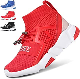 Kids Shoes Boys Girls Sneakers Running Tennis Wrestling Athletic Gym Shoes Slip-on Soft Knit Sock Shoes