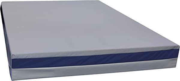North America Mattress Urine Resistant Mattress Full Sized Bed Wetting Mattress Soft Vinyl Waterproof Cover Easy To Clean Medical Quality Fabric Durable Cover CertiPUR US Certified Foam