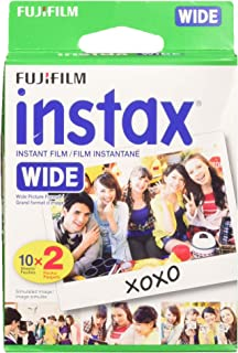 Fuji Wide Instant Color Film Instax for 200/210 Cameras - 2 Twin Packs - 40 P.
