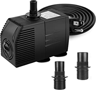 BARST Water Pump for Fish Tank, Hydroponics, Fountains, Ponds, Statuary, Aquariums & Inline