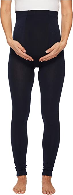 Plush - Maternity Fleece-Lined Footless Tights
