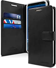 Goospery Blue Moon Wallet for Samsung Galaxy S9 Plus Case (2018) Leather Stand Flip Cover (Black) S9P-BLM-BLK