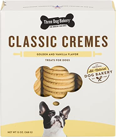 Three Dog Bakery Classic Cremes Baked Dog Treats