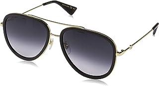 Gucci GG0062S 007 Montures de Lunettes, Or (7/Grey), 57 Femme