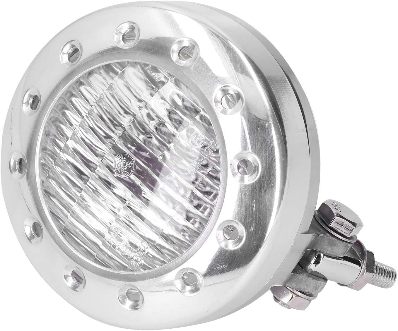 5Inch Motorcycle Headlight with Clear Lens 55W 12V Universal Max 70% OFF L Sale special price H