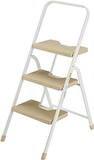 シービージャパン 脚立 踏み台 ベージュ 折りたたみ 3段 耐荷重100kg フォールディング ステップ folding step