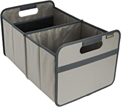 (Stone Grey) - meori Classic Large Foldable Box, Stone Grey, Collapsible Box To Organise, Store and Carry Anything and Everything