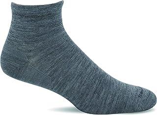 Sockwell Men's Plantar Ease Quarter II Relief Solutions Sock