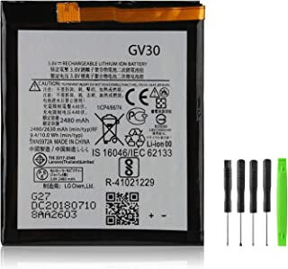 Damzon GV30 Battery Compatible with SNN5972A Replacement for Moto Z Droid XT1650-01 XT1650-03 XT1650-05 +Tool Kits (2630mAh 3.8V)
