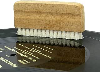 FidgetFidget Genuine Goat's Hair Vinyl Record Cleaning Brush-Anti Static