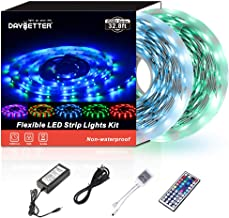 Daybetter SMD 3528 Led Strip Lights with 44 Key Remote( 2 Rolls of 16.4ft )