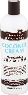 Renpure Originals Coconut Cream Nourishing Shampoo, 16 oz (Pack of 2)