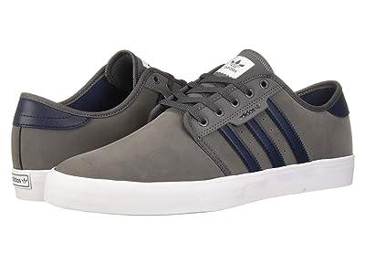 adidas Skateboarding Seeley (Grey Five/Collegiate Navy/Footwear White) Men