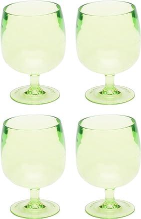 Kiwi Zak Designs Stacky Plastic Wine Glass 8oz