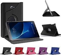 munddy- Funda GIRATORIA 360º con Soporte para Samsung Galaxy Tab A 9.7 T550 T555 T554,rotable 360° (Protector Cristal Templado Opcional)(Rosa) …