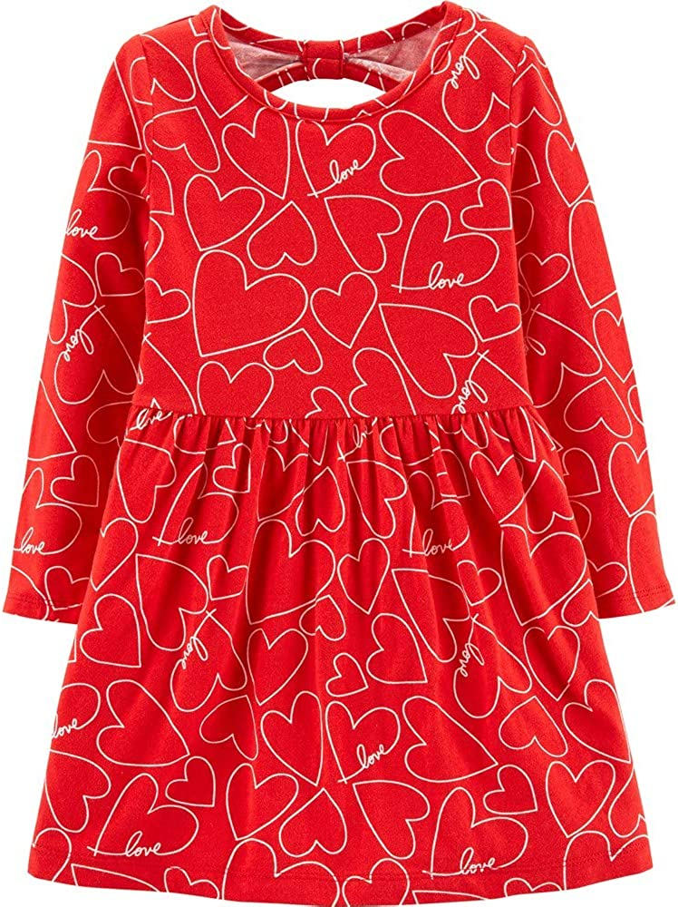 Carter's Girl's Valentine's Dress: Clothing, Shoes & Jewelry
