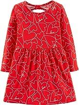 Carter's Toddler Girl Striped Hooded Valentine's Dress