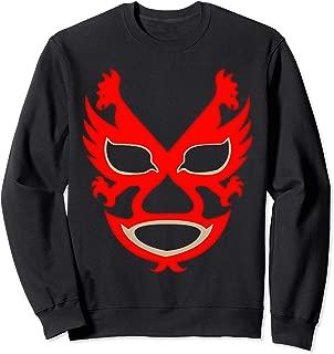 Feel-Ink Dos Caras Lucha Libre Mexican Wrestler Legend Sweatshirt