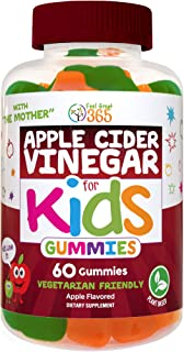 Feel Great 365's Apple Cider Vinegar Gummies for Kids | Digestive & Immunity Support* | Includes