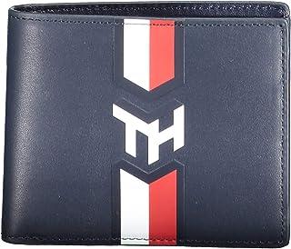 محفظة صغيرة بشعار الحروف الاولى للرجال من تومي هيلفجر - ازرق - AM0AM05872