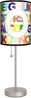 Monograms - Modern Letter O Sport Silver Lamp