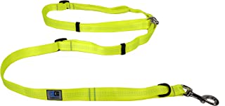 Canine Equipment Technika Beyond Control 1 Inch Dog Leash, 4 in 1 Leash, Neon Yellow