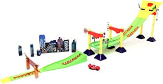 Disney Cars Neon Race-Off Track Set Multi