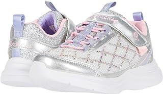 Skechers Kids' Glimmer Kicks-Sophisticated Shine Sneaker