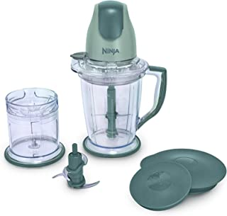 Ninja 400-Watt Blender/Food Processor for Frozen Blending, Chopping and Food Prep with..