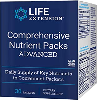 Life Extension Comprehensive Nutrient Packs (Advanced), 30 Packets