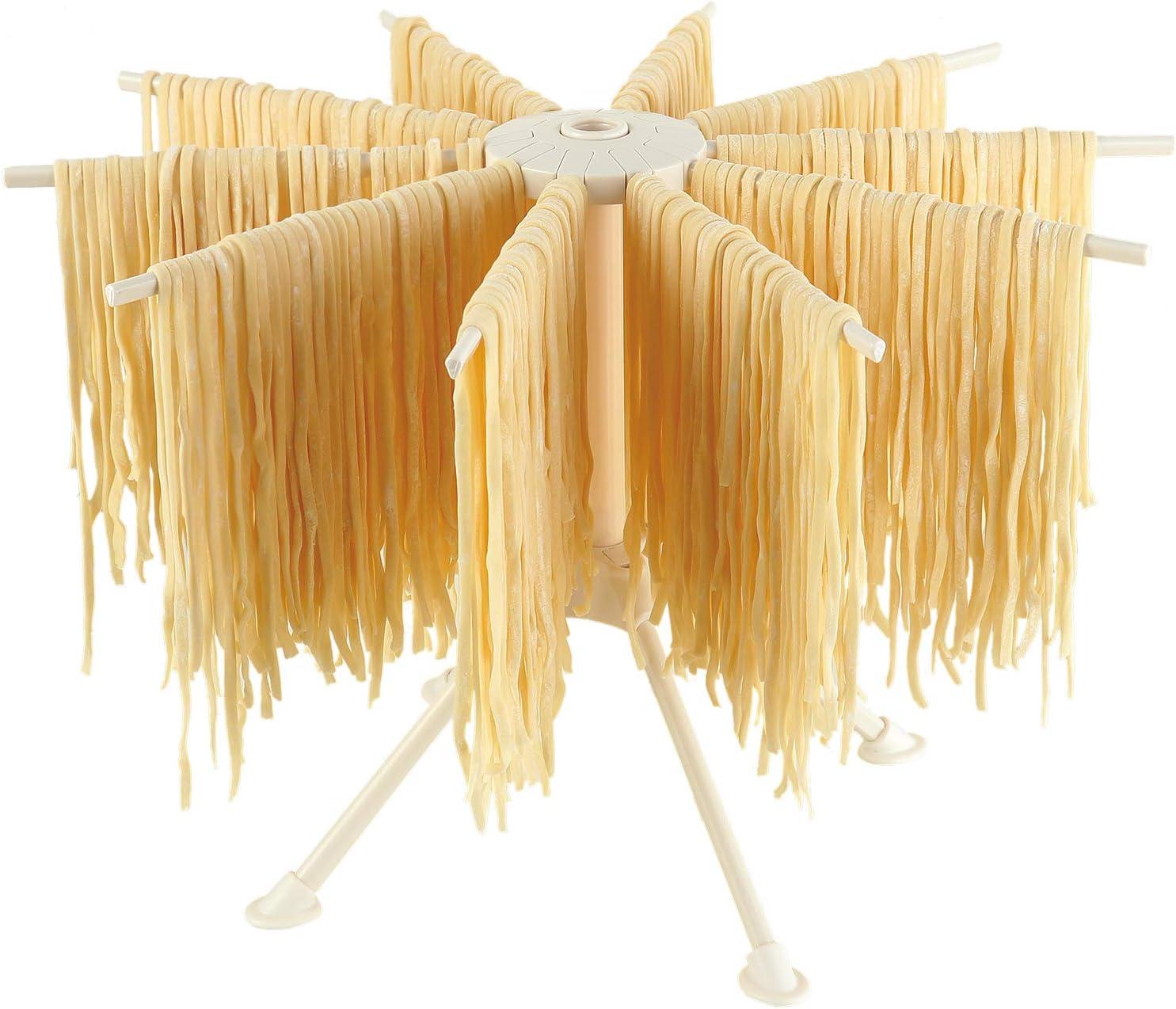 Cambom Foldable Pasta Drying Rack- Noodle Plastic Alternative dealer security Drye Spaghetti