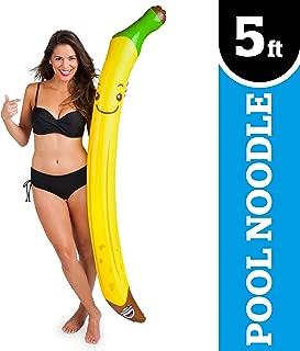 BigMouth Inc Banana Inflatable Noodle Pool Float