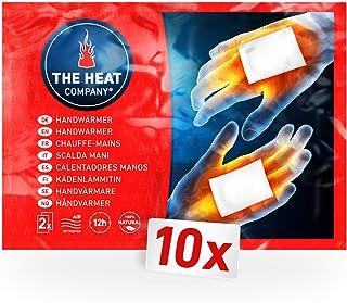 THE HEAT COMPANY handvärmare – 10 eller 40 par – extra varm – fickvärmare – 12 timmar varma händer – redo att användas dir...