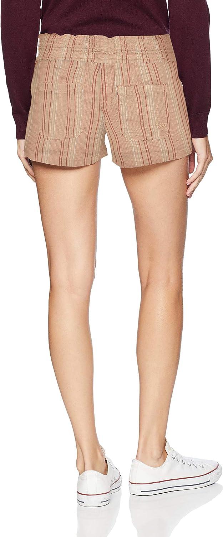 Roxy Womens Oceanside Yarn Dye Shorts